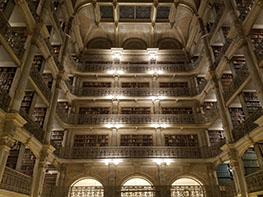 George Peabody Library, Russian Dancers, Baltimore, Maryland, Barynya