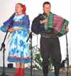 Russian dance and music duo
