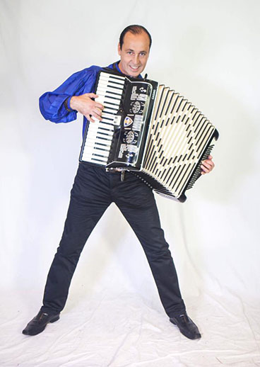 NYC accordion virtuoso Andrei