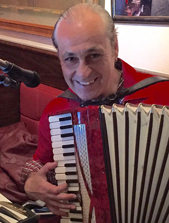 Accordion virtuoso Andrei, New York City