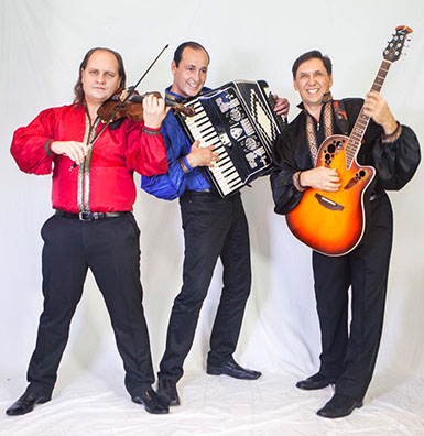 NYC accordion virtuoso Andrei with Gypsy Fun Trio