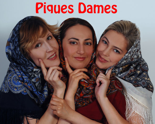 Piques Dames - Russian singers trio from New York