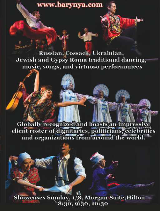 Barynya showcase at APAP conference in New York City, January 8th, 2012