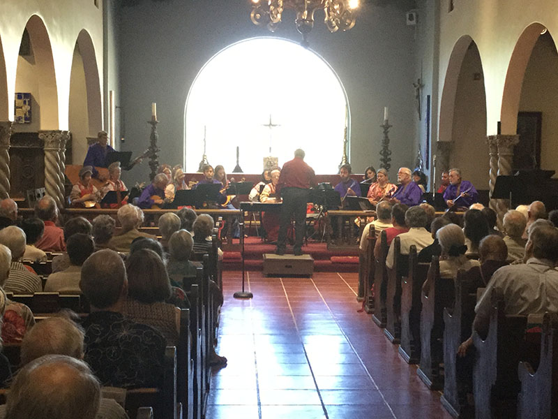 Arizona Balalaika Orchestra, Church Sanctuary, Historic St. Philip's In The Hills Episcopal Church