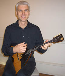 Alex Siniavski. Author of Balalaika tutorial on DVD