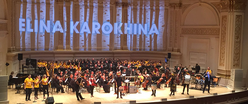 Elina Karokhina, Carnegie Hall, New York City, USA