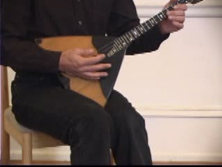Balalaika Tutorial on DVD by Alex Siniavski. Lesson 3. PIZZICATO VIBRATO, THUMB VIBRATO, HARMONICS