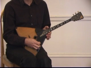 Balalaika Tutorial on DVD by Alex Siniavski. Lesson 5. SINGLE PIZZICATO