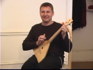 Balalaika Tutorial on DVD by Alex Siniavski. Lesson 8. Country Folk Balalaika