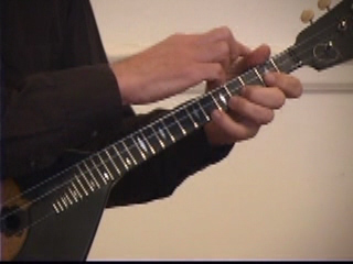 Balalaika Tutorial on DVD by Alex Siniavski. Lesson 9. Left Hand position