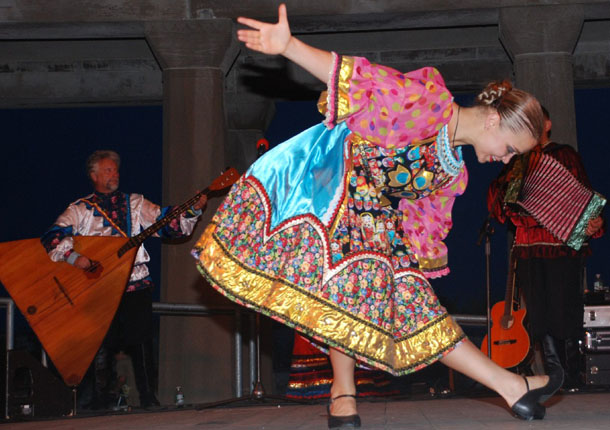 "Valentina Kvasova, Russian folk dance KALINKA, Ensemble ""Barynya"" performance in Atlantic City, NJ"