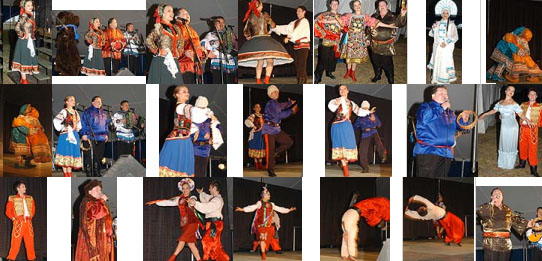 Photos from the International Folk Fair Festival in St. Petersburg, Florida, March 2009