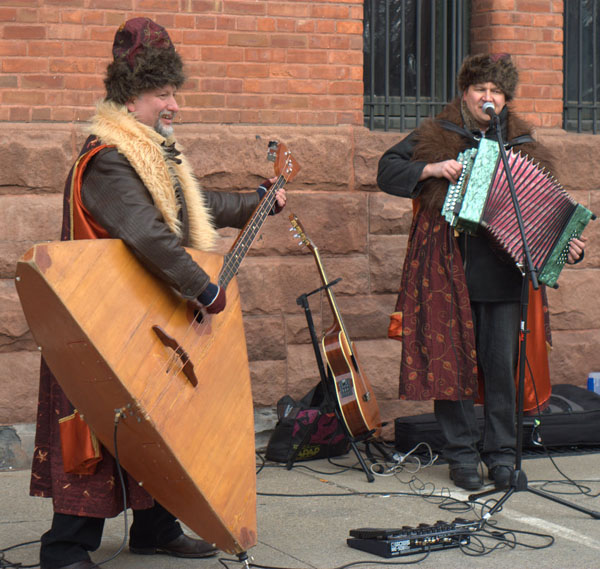 Barynya concert in Albany, New York, 2010, photo by Sonya Stark