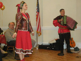 Barynya concert in Rockaway, New Jersey, 2010
