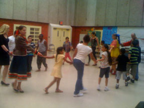 Russian dance, music show and workshop, NYC, 8-12-2011