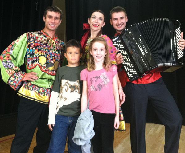 Ensemble Barynya, Nikolay Kislyak, Alexander Rudoy, Olga Chpitalnaia, Lexington, MA