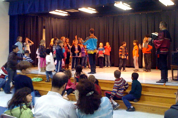 Russian dance workshop, song and music concert in Kengsington, Maryland