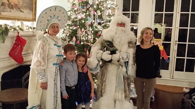 Ded Moroz, Snegurochka, New York City, New York, Дед Мороз, Снегурочка, Нью-Йорк
