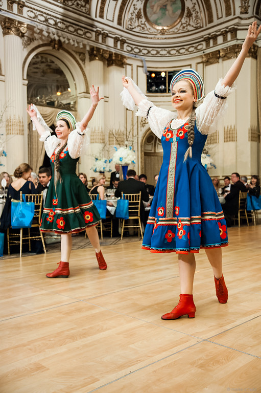 Dancers Olga Chpitalnaia and Valentina Kvasova, Photo credit :: Maike Schultz, Annual Petroushka Ball, NYC, Petroushka-2014, The Plaza, New York City, NY