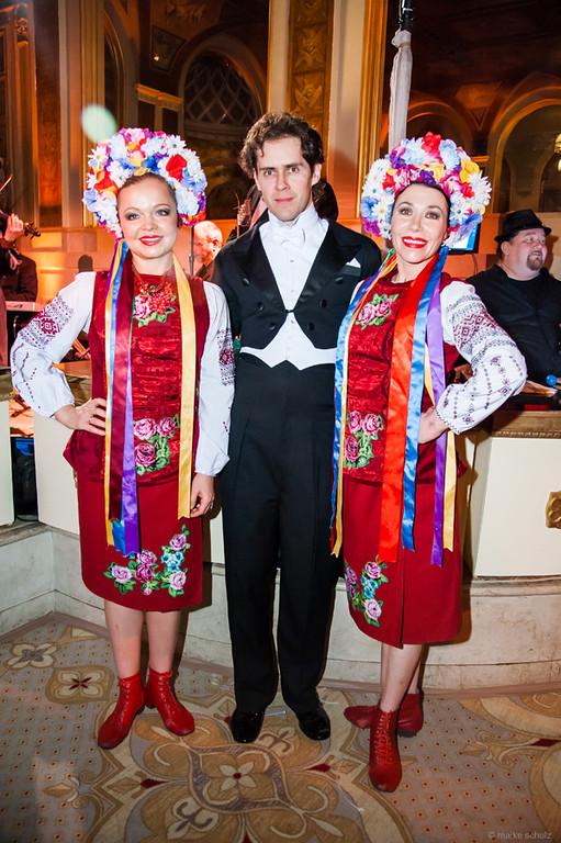 Dancers Olga Chpitalnaia and Valentina Kvasova, Photo credit :: Maike Schultz, Annual Petroushka Ball 2014, The Plaza, New York City
