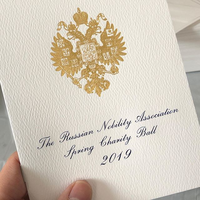 Russian Nobility Ball 2019, The Pierre, A Taj Hotel, New York City