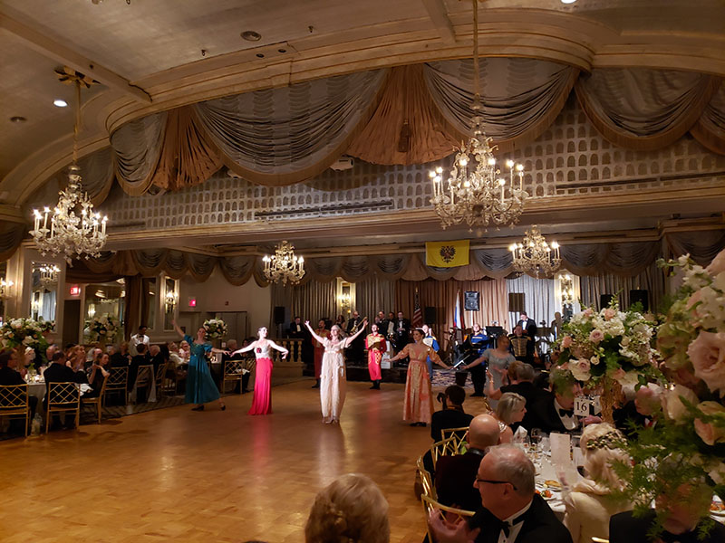 Russian Nobility Ball 2019, The Pierre, A Taj Hotel, New York City, Victoria Prosina, Olga Yeliseyeva, Simona Zhukovsky, Olga Chpitalnaia, Irina Biryukova, Serhiy Tsyganok, Danila Sherstobitov, Vladimir Nikitin, Konstantin Tulinov, Alexander Rudoy