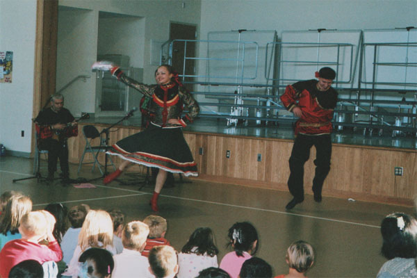 Russian folk dance and music workshop