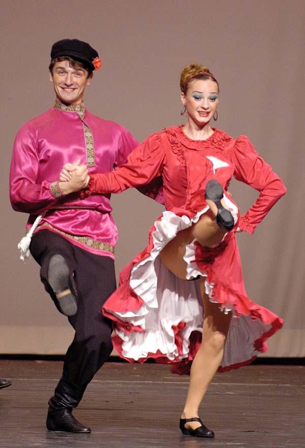 russian dancing