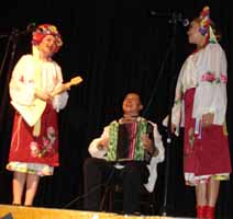 Cossack folk song and dance trio from Brooklyn, New York