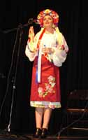 Russian, Ukrainian, Gypsy and Cossack folk singer Victoria