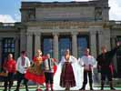 Russian folk dance ensemble Barynya in St. Louise
