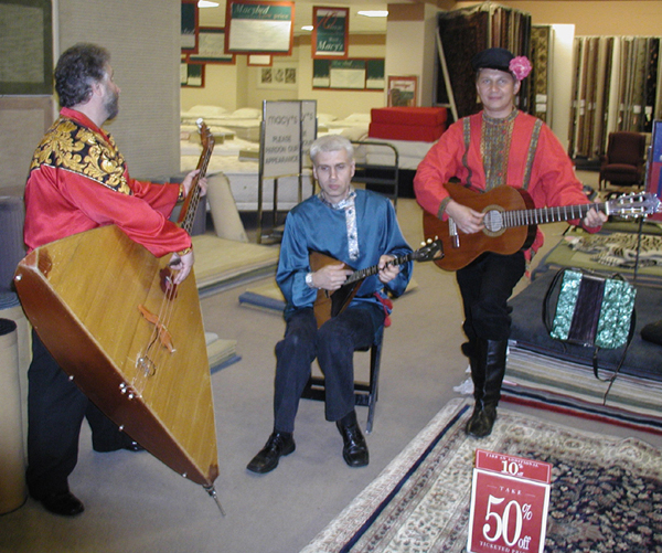Brooklyn Balalaikas Russian folk music trio