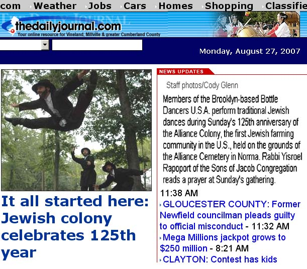 Bottle dancers USA in The Daily Journal - www.thedailyjournal.com - Vineland, N.J.