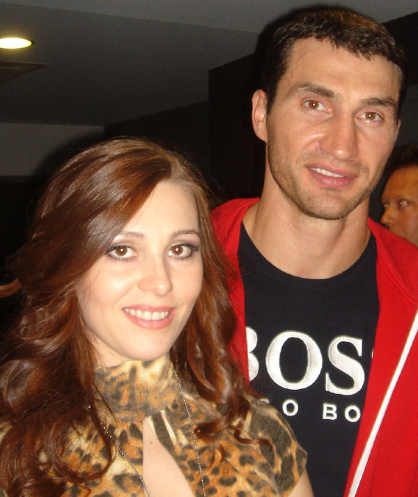 Actress dating russian boxer