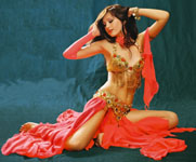Making belly dance erotica video