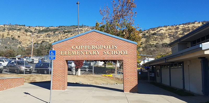 Copperopolis Elementary School, Copperopolis, California