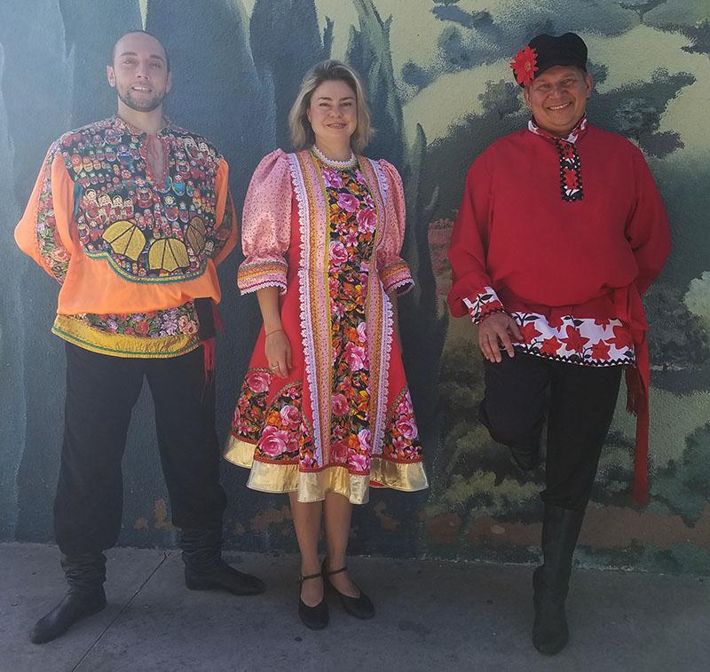 Serhiy Tsyganok, Elina Karokhina, Mikhail Smirnov