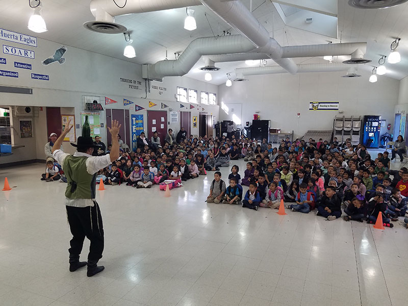 Huerta Elementary School, Stockton, CA, California