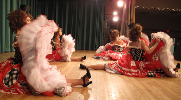 Moulin Rouge French Cabaret dancers photo 03