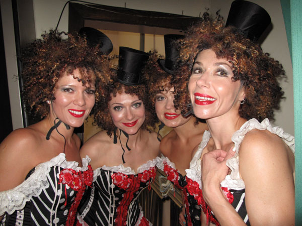 Moulin Rouge French Cabaret dancers photo 07