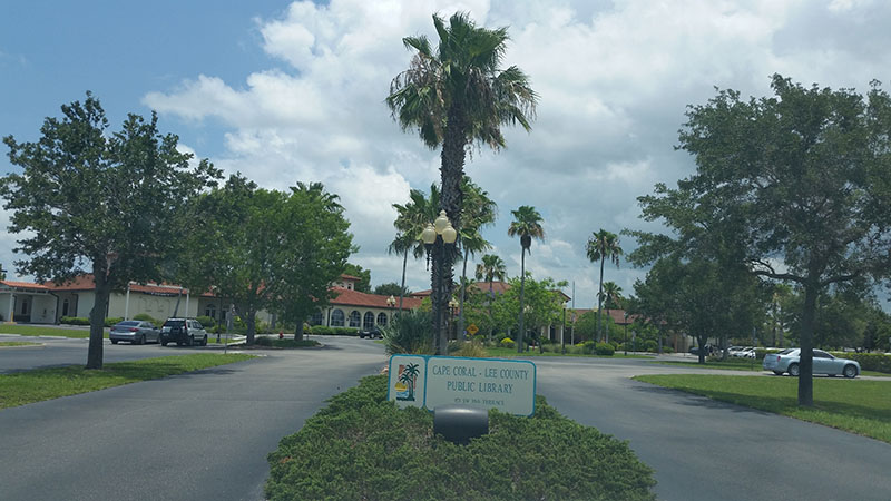 Cape Coral Lee County, Florida, Cape Coral Lee County Public Library