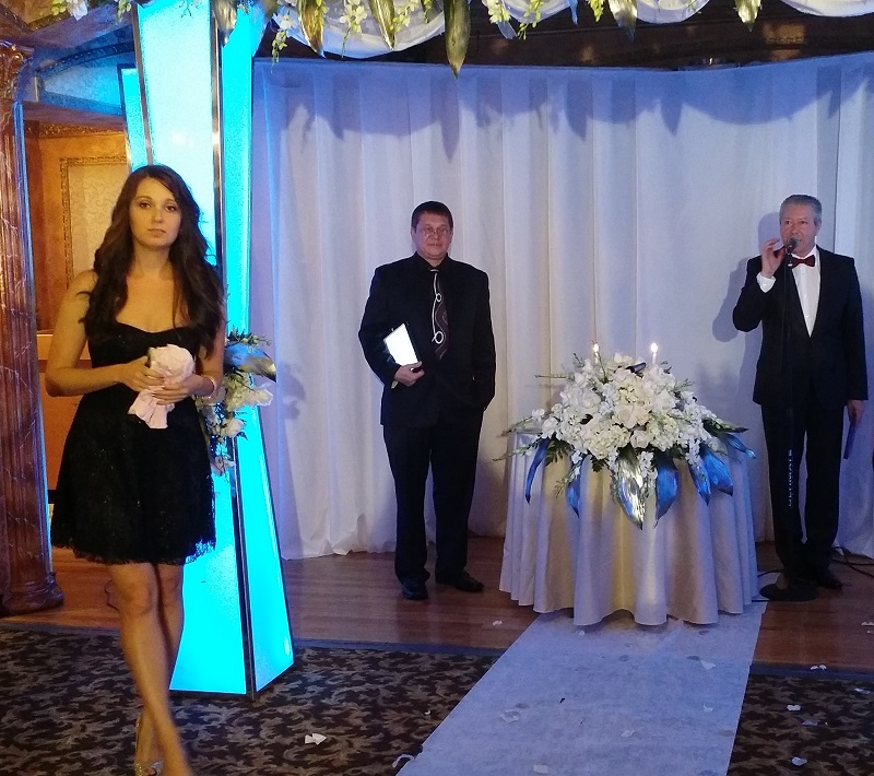 Russian Wedding Minister, Restaurant Orion Palace, Brooklyn, NY