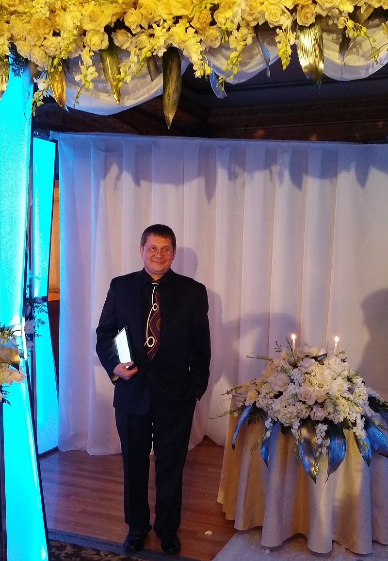 Russian Wedding Minister, Restaurant Orion Palace, Brooklyn, New York