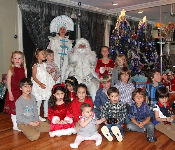 Ded Moroz Snegurochka New York Дед Мороз Снегурочка Нью-Йорк