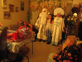 Ded Moroz, Snegurochka, Far Rockaway, Brooklyn, New York