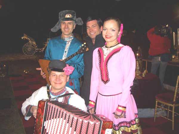 Alex Siniavski, David Tutera, Valentina Kvasova and Mikhail Smirnov