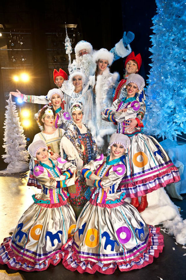Russian Winter Musical Fairytale Dance & Music Show