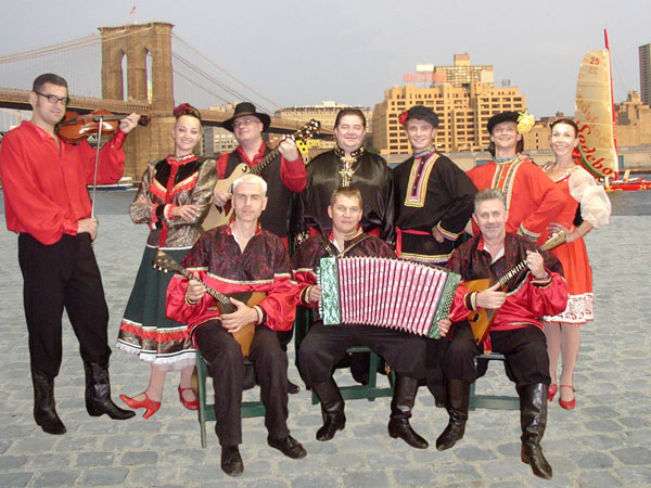 "Russian folk dance and music ensemble ""Barynya&quot from Brooklyn, New York"