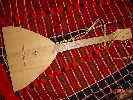 Balalaika or Belly Scratcher handmade handmade in Russia by craftsman Aleksandr Zhukovski