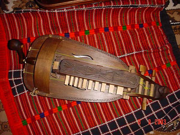 Ukranian Lira\Украинская лира. Russian folk musical instrument handmade in Russia by craftsman Aleksandr Zhukovski